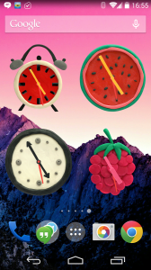 KM Clock widgets 1