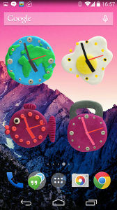KM Clock widgets 2