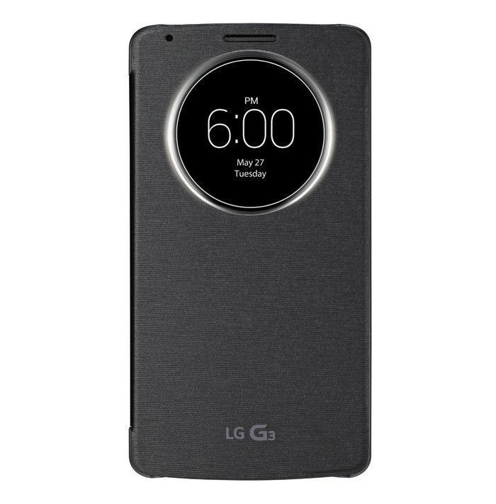 LG G3 v ochranném pouzdře QuickCircle