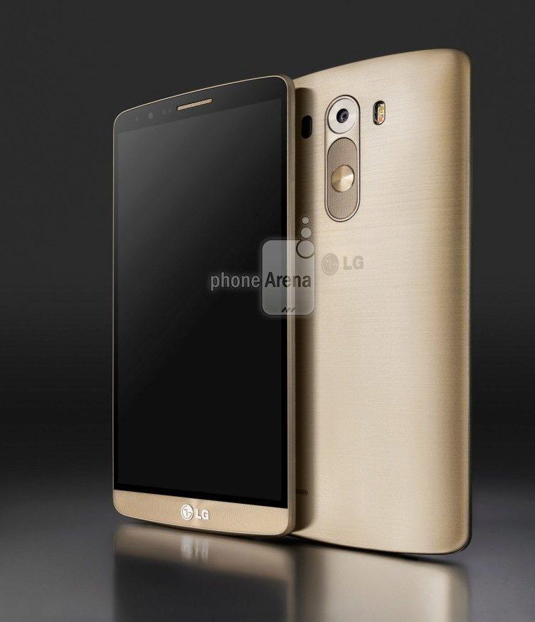 LG G3 ve zlaté barvě