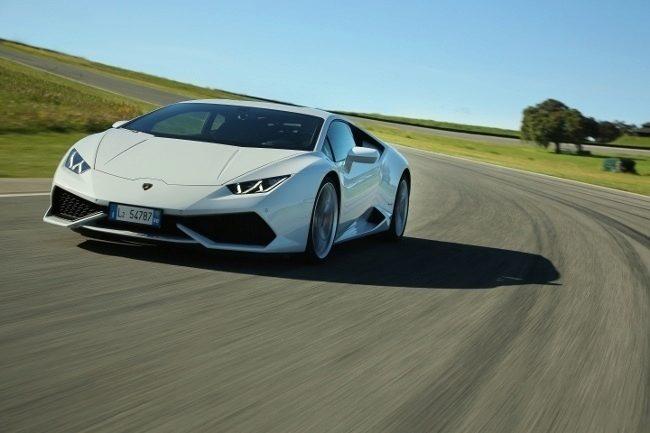 Lamborghini - okruh