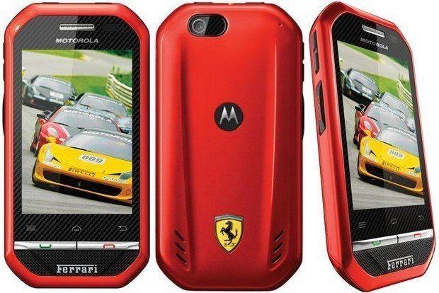 Motorola i867 - ferrari edition