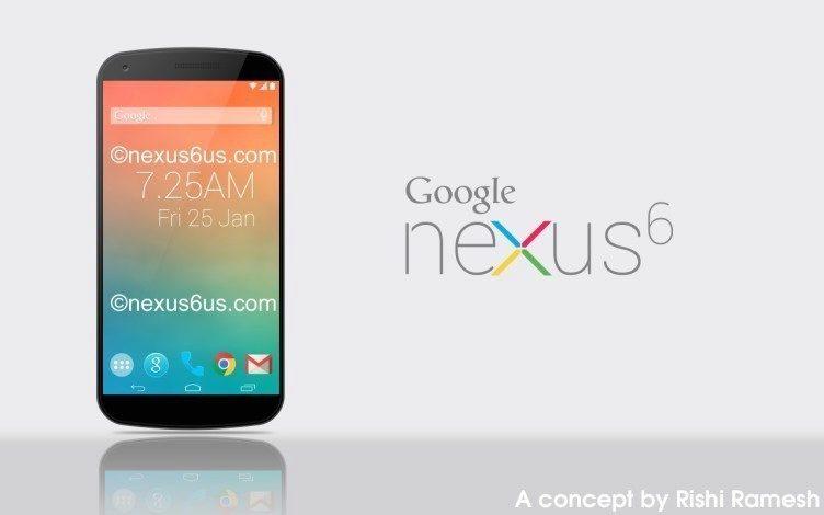 Jeden z konceptů Nexusu 6