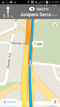 Mapy Google 8.0
