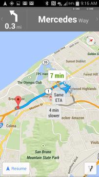 Maps Google 8.0