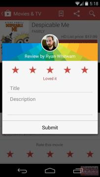 Hodnocení aplikace - Obchod Play 4.8.19