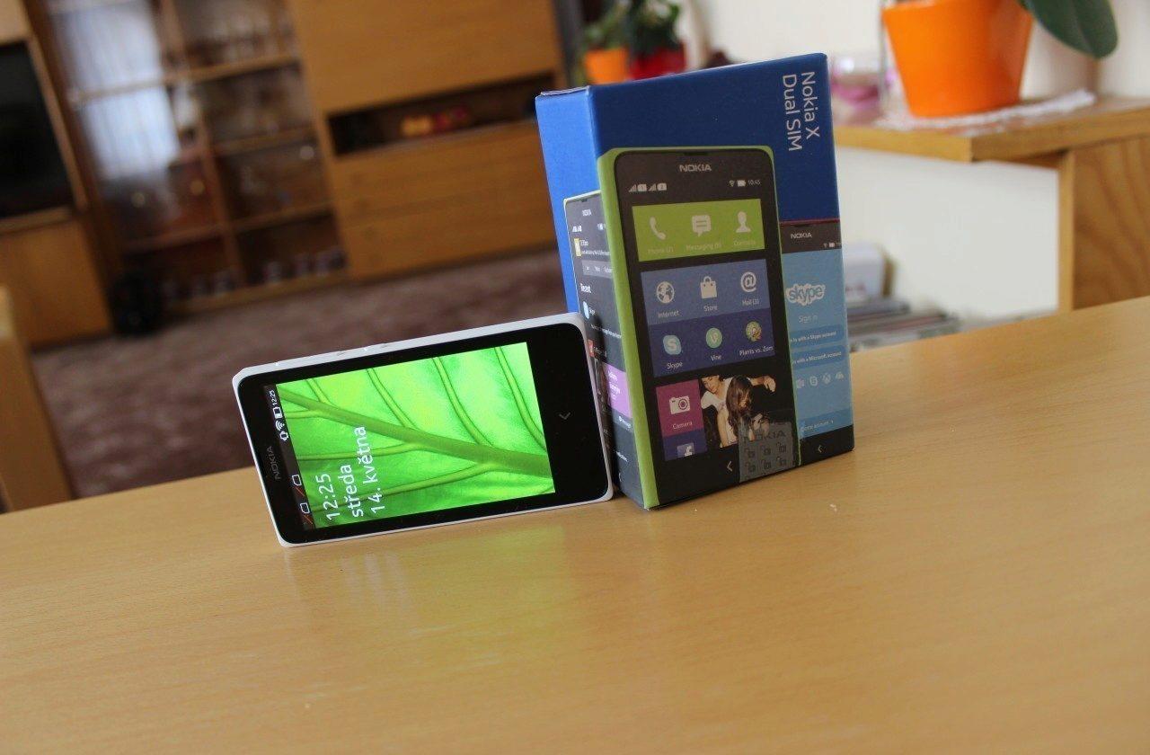 Nokia X recenze – cover