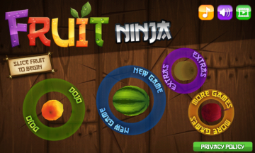 Nokia X recenze - Fruit Ninja 1