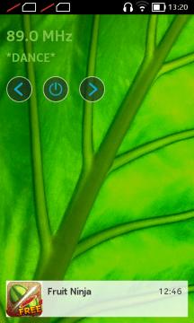 Nokia X recenze - lock screen