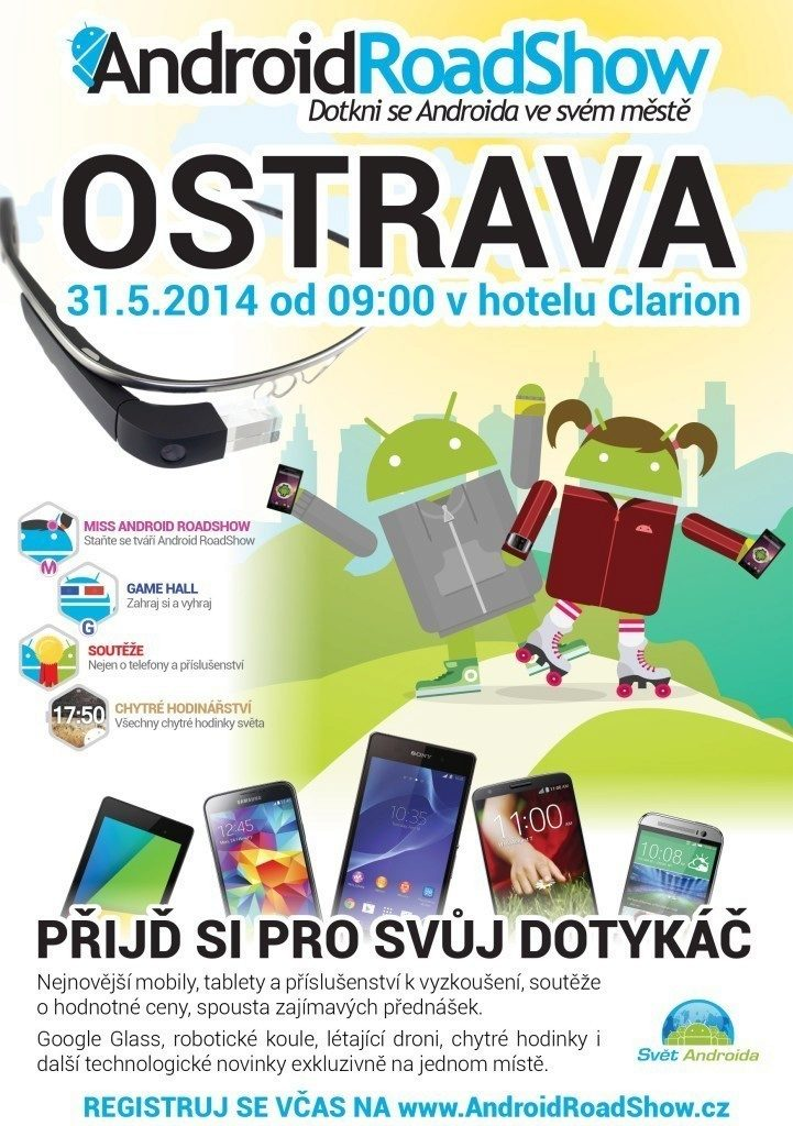 Ostrava Android RoadShow