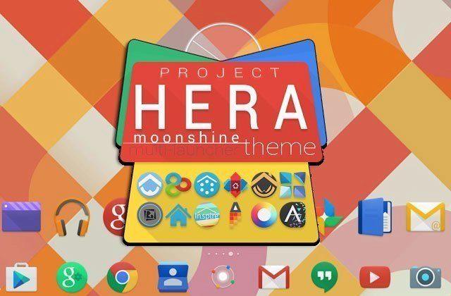 Ochutnejte Android budoucnosti ve svém telefonu: Project Hera Launcher Theme