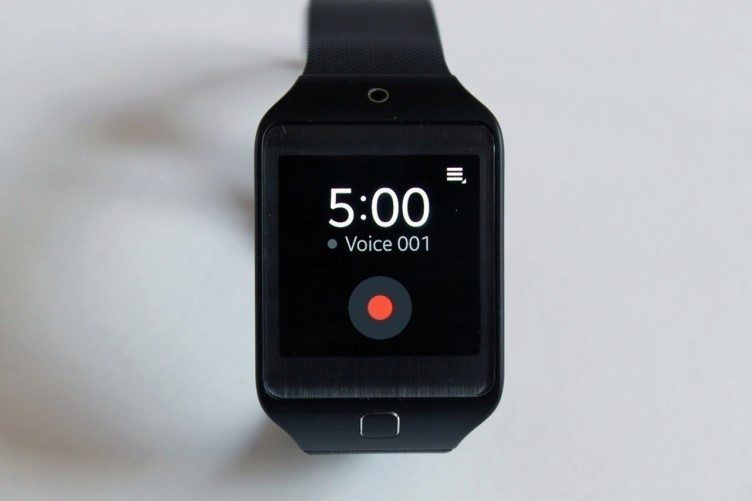 Samsung Gear 2 Neo Voice Memo
