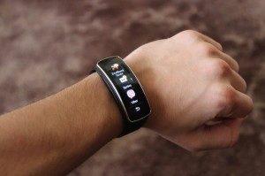 Samsung Gear Fit notifikace