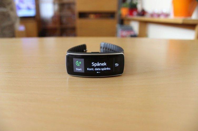 Samsung Gear Fit recenze - spánek