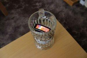 Samsung Gear Fit recenze - ve vodě