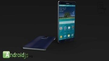 Koncept Samsungu Galaxy S6 od Jermaine Smita