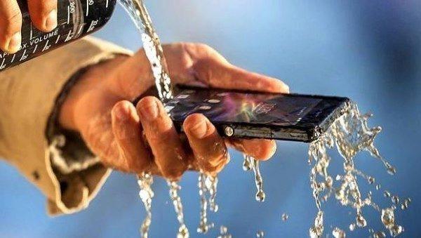 Sony vodotěsnost