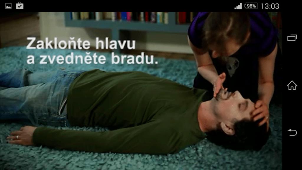 video první pomoci