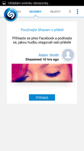 Shazam: novinky