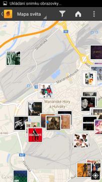 SoundHound: mapa