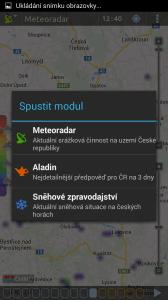 Meteor: spuštění dalších aplikací Androworks