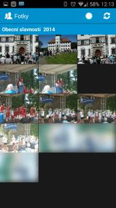 Prohlížení alba - nejnovější fotky na začátku