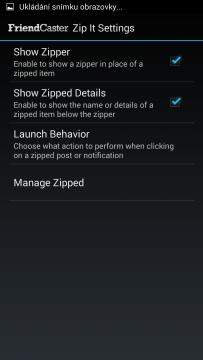 Zip It Settings
