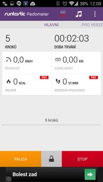 Aplikace v režimu ukončení/pozastavení