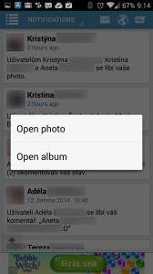 Otevření příspěvku - fotografie