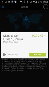 Výběr a nákup mapových podkladů