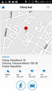 Navigace na adresu