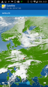 WeatherPro: oblačnost