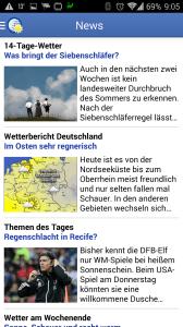 Wetter App: zprávy a aktuality