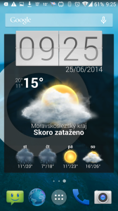 Beautiful Widgets: jeden z widgetů
