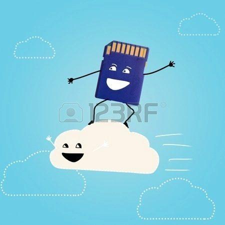 26750547-cloud-storage-memory-card-is-surfing-on-cloud-in-sky