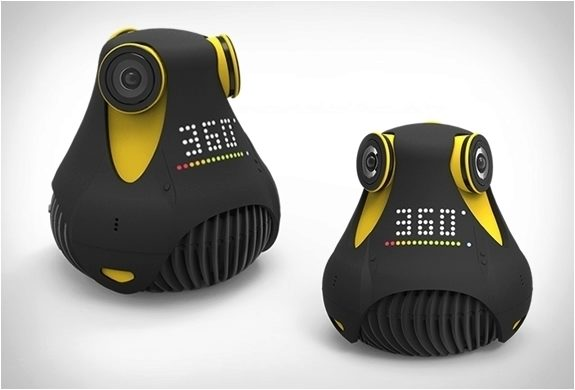 360° kamera - yellow