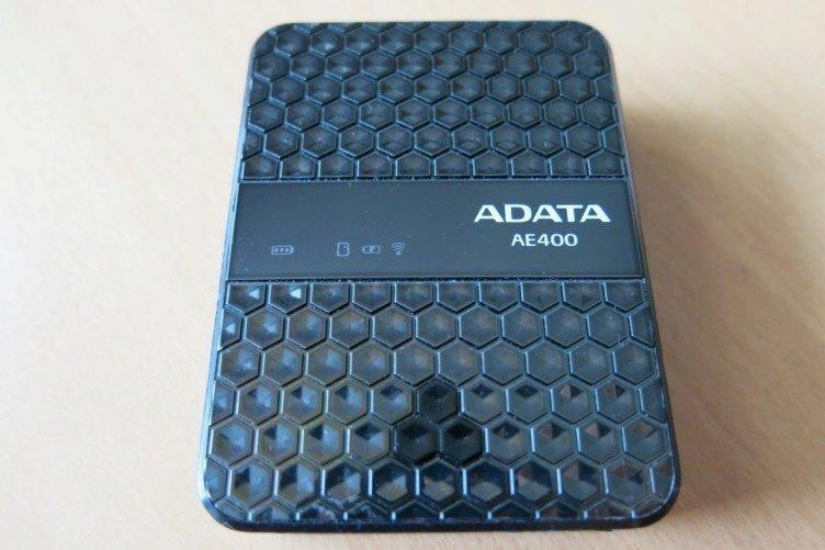 ADATA DashDrive Air AE400 - tlačítko