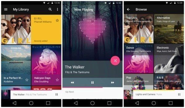 Google Play Hudba