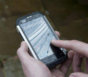 Telefon je odolný proti vodě