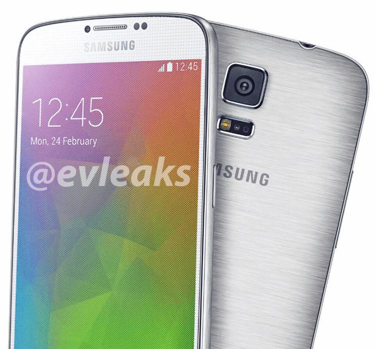 Předchozí render telefonu Samsung Galaxy F