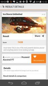 Huawei Ascend P7 recenze - 3D Mark