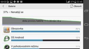 Huawei Ascend P7 recenze - baterie 1