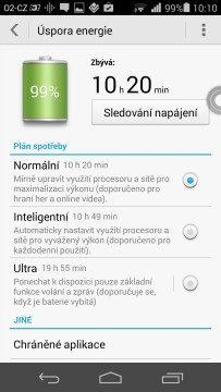 Huawei Ascend P7 recenze - baterie 2