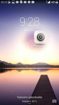 Huawei Ascend P7 recenze - odemykání