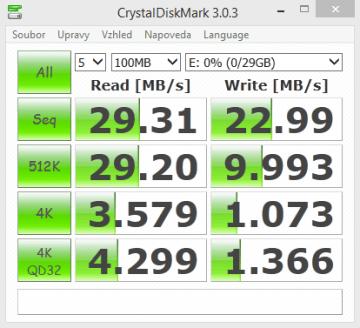 Kingston DataTraveler microDuo-CrystalDiskMark