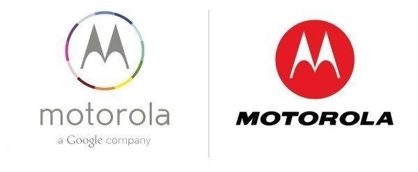 Nové a původní logo Motoroly