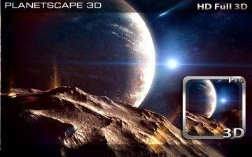 PlanetScape 3D Live Wallpaper 1