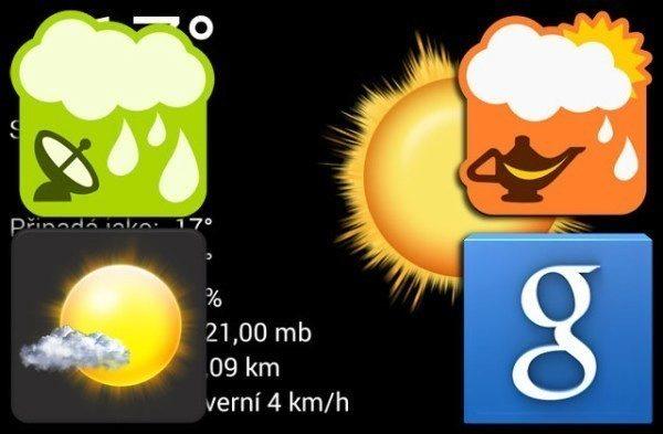 SvětAndroida doporučuje: 5x předpověď počasí pro Android