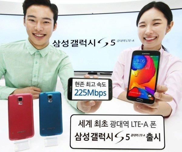 Samsung představil vylepšený model Galaxy S5 LTE-A