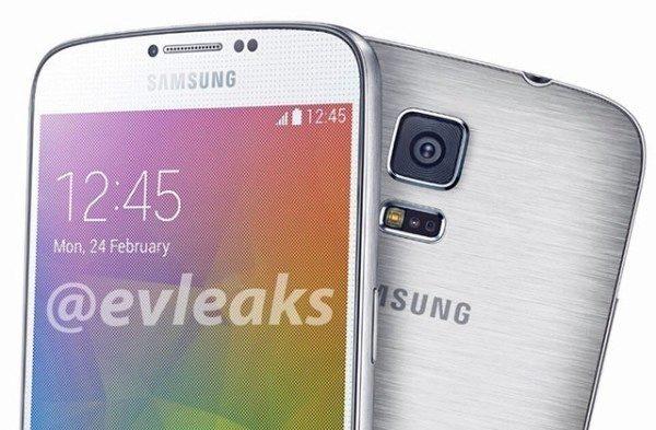 Údajný render telefonu Samsung Galaxy F (Galaxy S5 Prime)